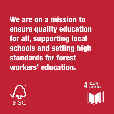Together We Are FSC® Quality Education