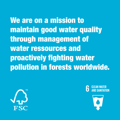 Together we are FSC® clean water & sanitation